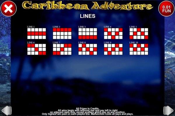 Casino Codes image of Caribbean Adventure