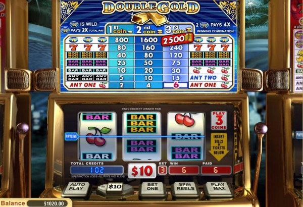 Casino Codes image of Double Gold