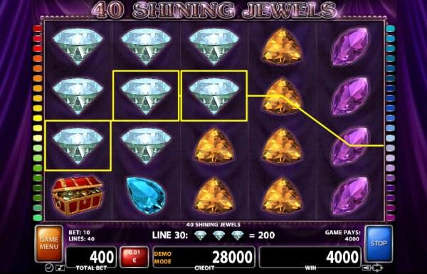 40 Shining Jewels screenshot