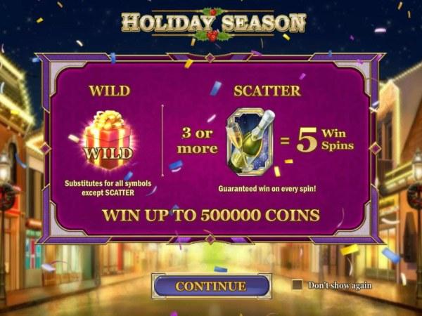 Holiday Season by Casino Codes
