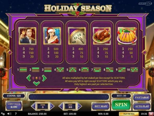 Holiday Season screenshot
