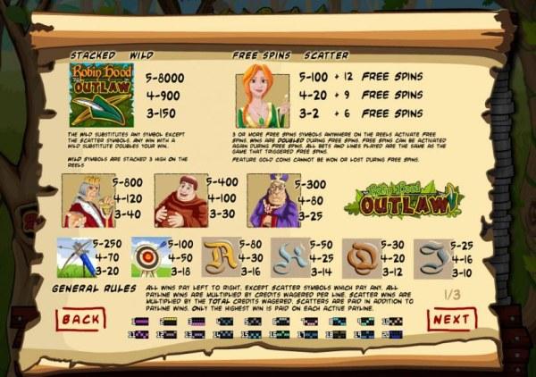 Robin Hood Outlaw screenshot