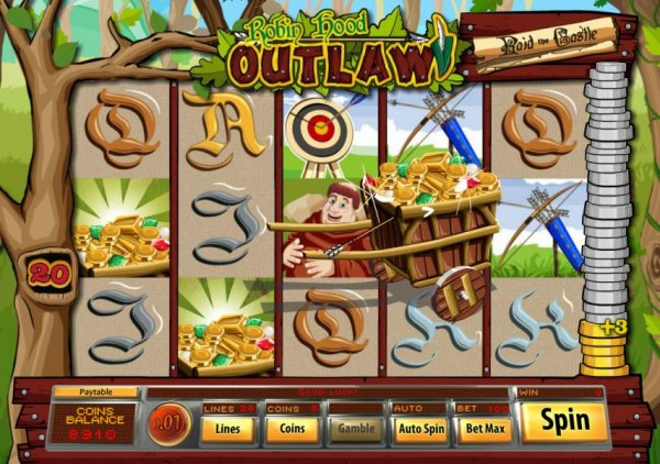 Robin Hood Outlaw by Casino Codes
