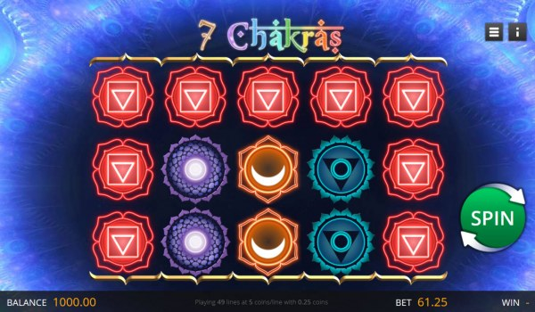 7 Chakras by Casino Codes