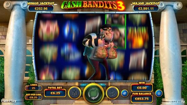 Cash Bandits 3 by Casino Codes