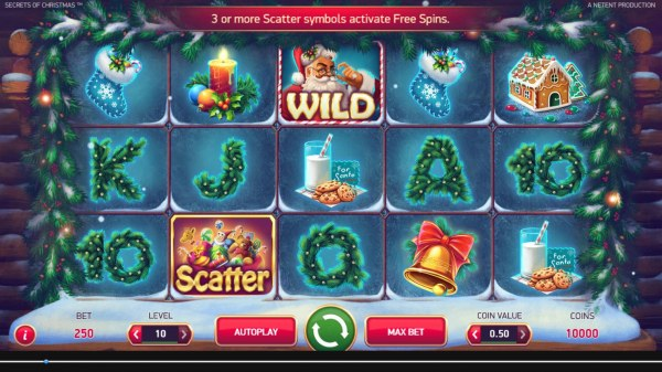Secrets of Christmas by Casino Codes