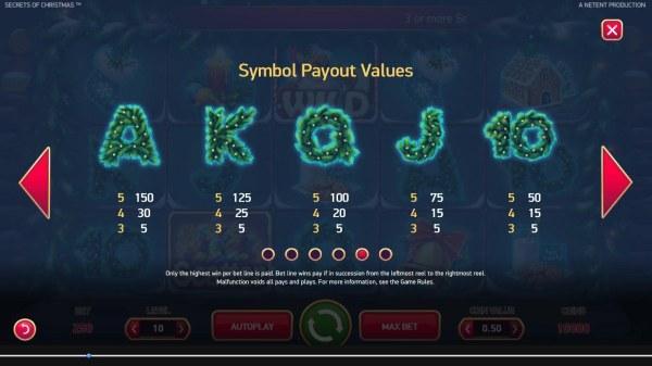 Casino Codes image of Secrets of Christmas