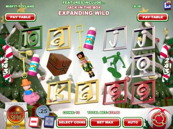 Casino Codes image of Misfit Toyland
