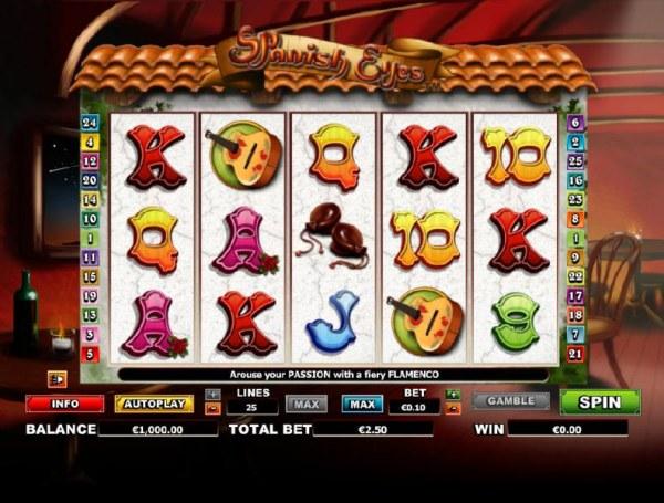 Casino Codes image of Spanish Eyes