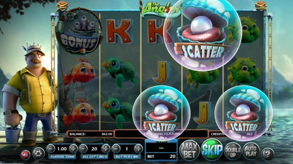 Three scatter symbols appearing anywhere on reels 3, 4 and 5 triggers the free spins feature. by Casino Codes