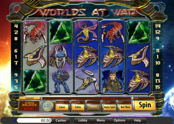 Worlds at War by Casino Codes