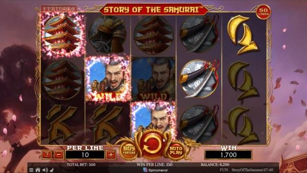 Story of the Samurai screenshot