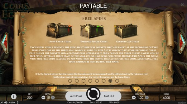 Casino Codes image of Coins of Egypt