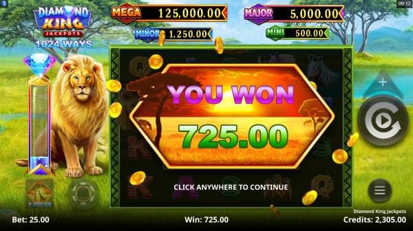 Casino Codes image of Diamond King Jackpots