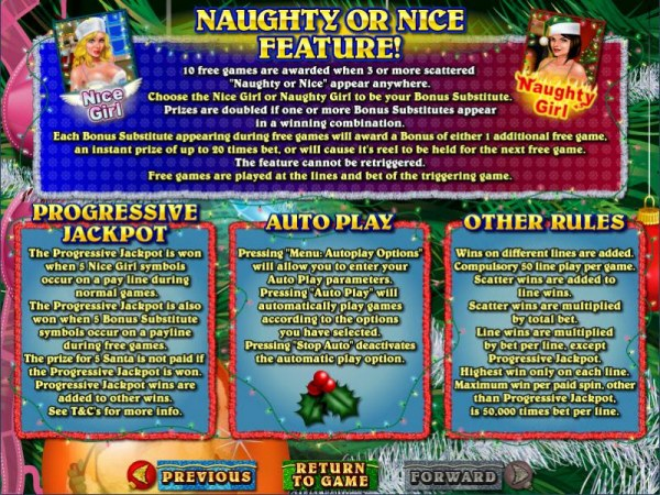 Naughty or Nice? screenshot