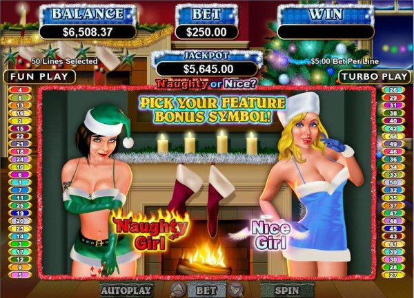 Naughty or Nice? by Casino Codes
