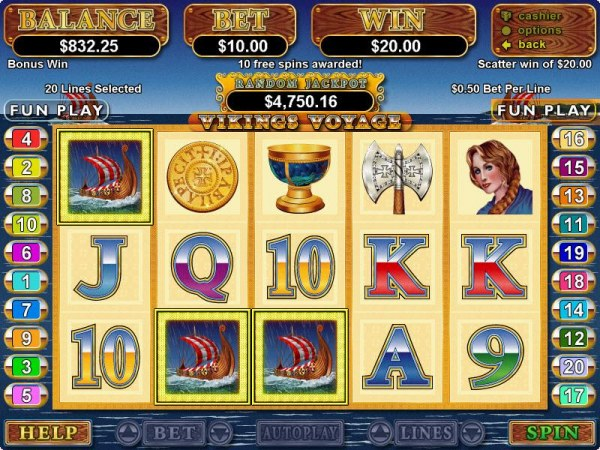 Viking's Voyage by Casino Codes
