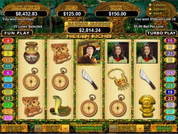 Hidden Riches by Casino Codes