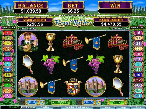 Casino Codes image of Regal Riches