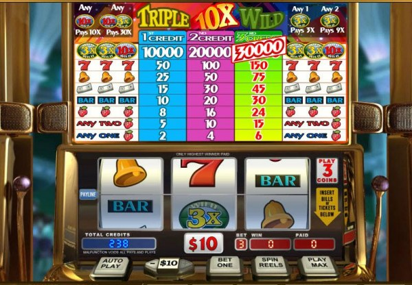 Casino Codes image of Triple 10x Wild