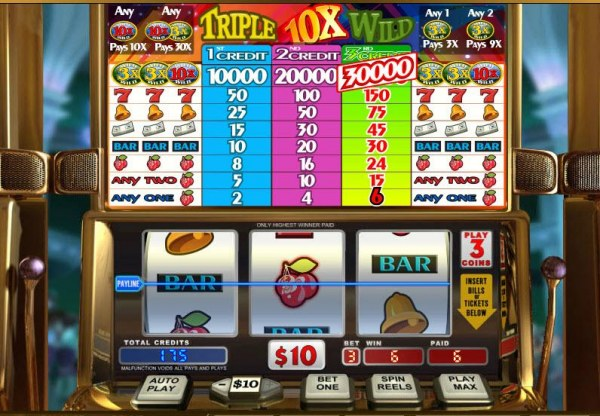 Any one cherry symbols triggers a payout - Casino Codes