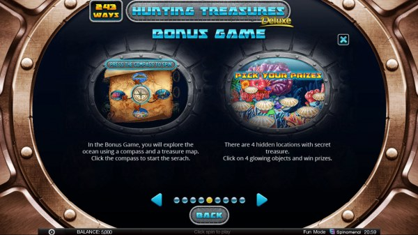 Casino Codes image of Hunting Treasures Deluxe