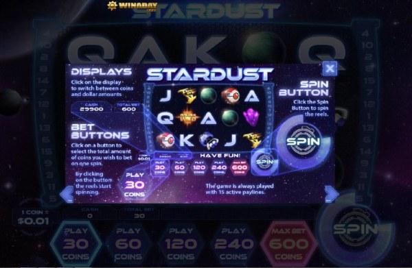 Casino Codes image of Stardust