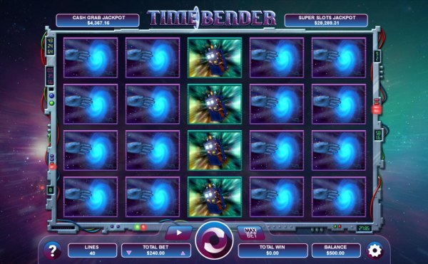Time Bender by Casino Codes