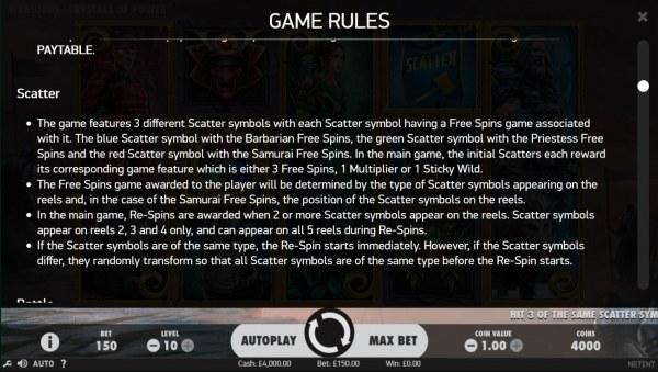 Scatter Symbol Rules by Casino Codes