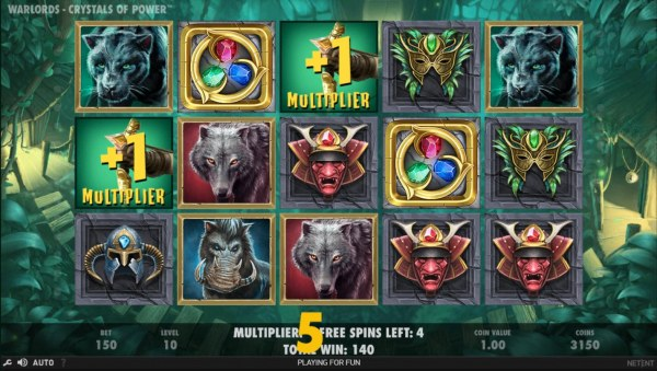 Casino Codes - Earn extra free spins for every scatter symbols that lands on the reels during the Free Spins feature.