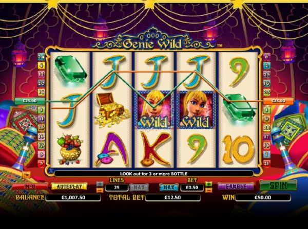 2 four of a kind triggers a $50 jackpot - Casino Codes
