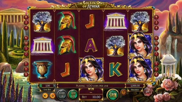 The Golden Owl of Athena screenshot
