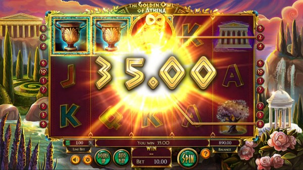 Casino Codes image of The Golden Owl of Athena