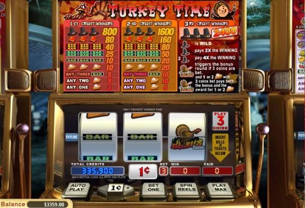 Casino Codes image of Turkey Time