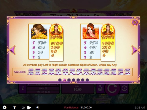 Casino Codes image of Tian Di Yuan Su