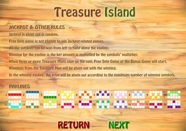 Images of Treasure Island