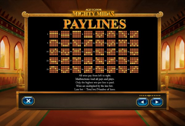 Casino Codes image of Age of the Gods Mighty Midas