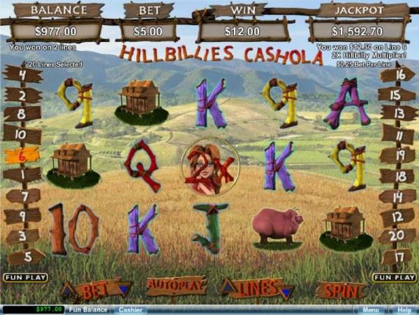 Hillbillies Cashola by Casino Codes