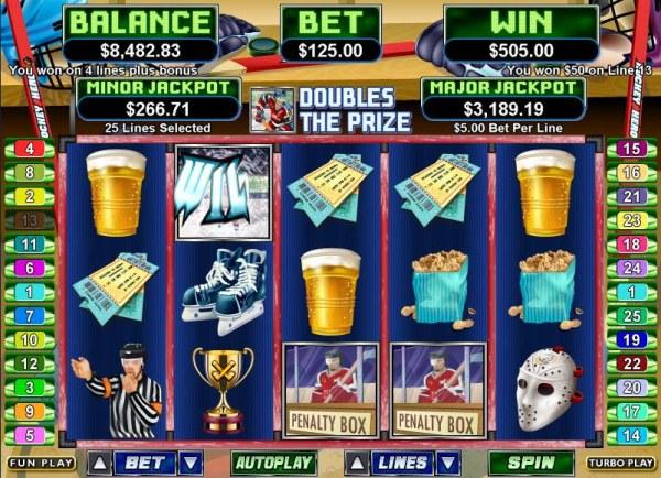 Casino Codes image of Hockey Hero