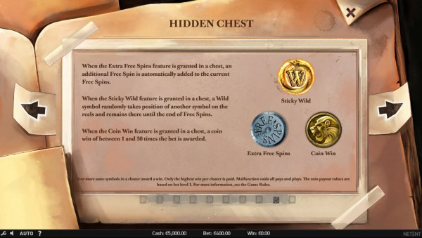Hidden Chest - Casino Codes