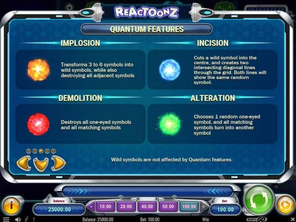 Reactoonz screenshot