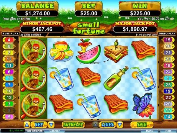 Casino Codes image of Small Fortune