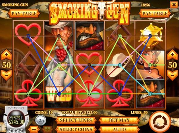 Casino Codes image of Smoking Gun