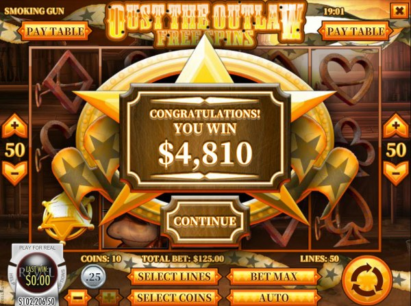 Total free spins payout by Casino Codes