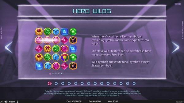 Hero Wilds Feature - Casino Codes