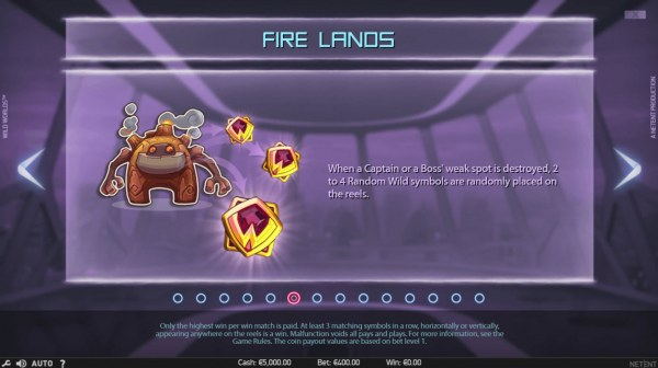 Fire Lands by Casino Codes