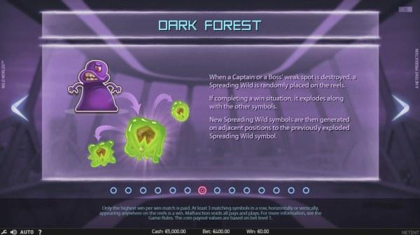 Casino Codes - Dark Forest