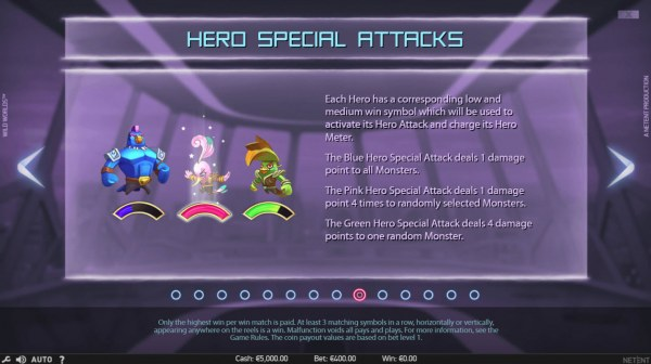 Hero Special Attacks by Casino Codes