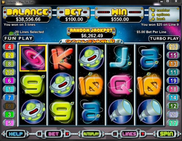 Casino Codes image of Outta This World