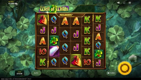 Casino Codes - Base Game Screen